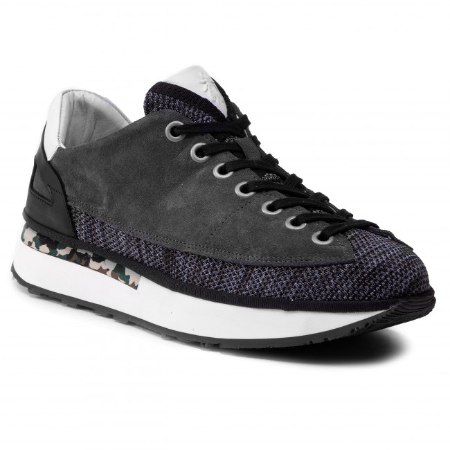 Sneakersy FLY LONDON - Dazofly P501039001  Blu/Char/Wh/Blk