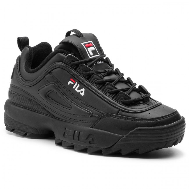 Sneakersy FILA Disruptor Low 1010262.12V BlackBlack