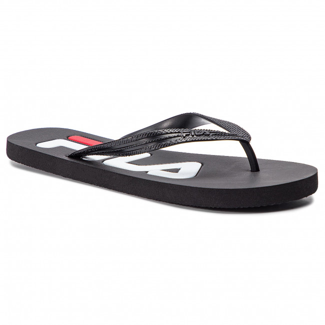 Japonki FILA - Troy Slipper 1010288.25Y Black