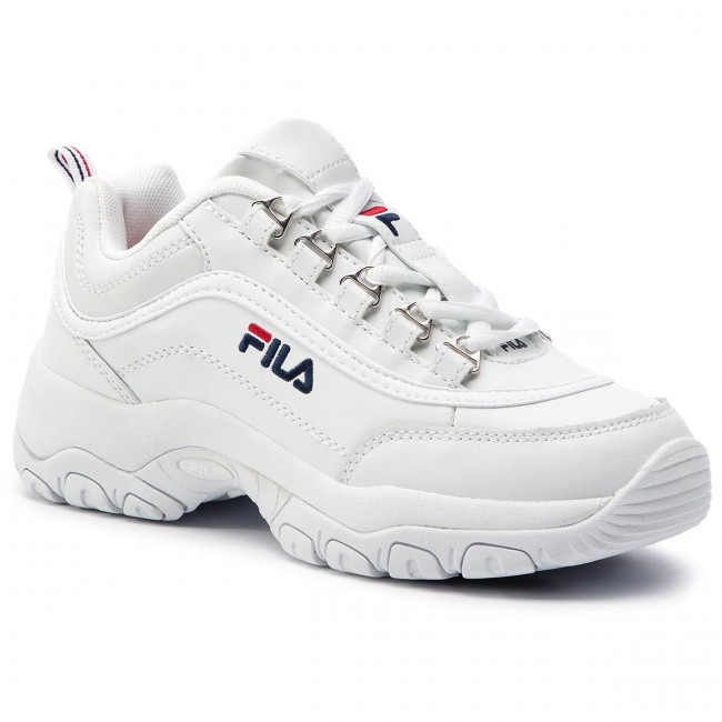 Sneakersy FILA - Strada Low Wmn 1010560.1FG White