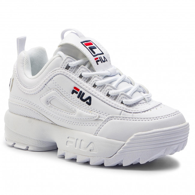Sneakers FILA Disruptor Kids 1010567.1FG White Laced
