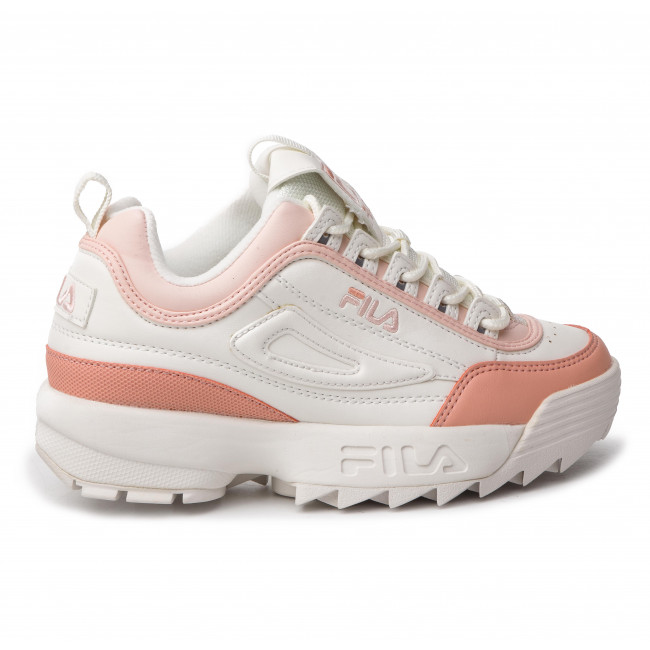 Sneakersy FILA Disruptor Cb Low Wmn 1010604.02W MarshmallowSalmon
