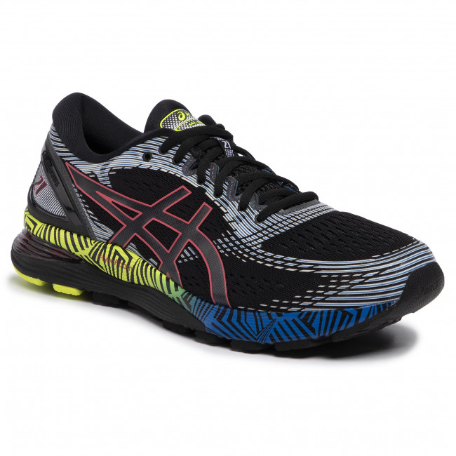 Buty ASICS Gel Nimbus 21 Ls 1011A632 BlackElectric Blue 001