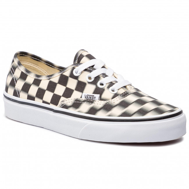 Tenisówki VANS Authentic VN0A38EMVJM1 (Blur Check) BlackClassi
