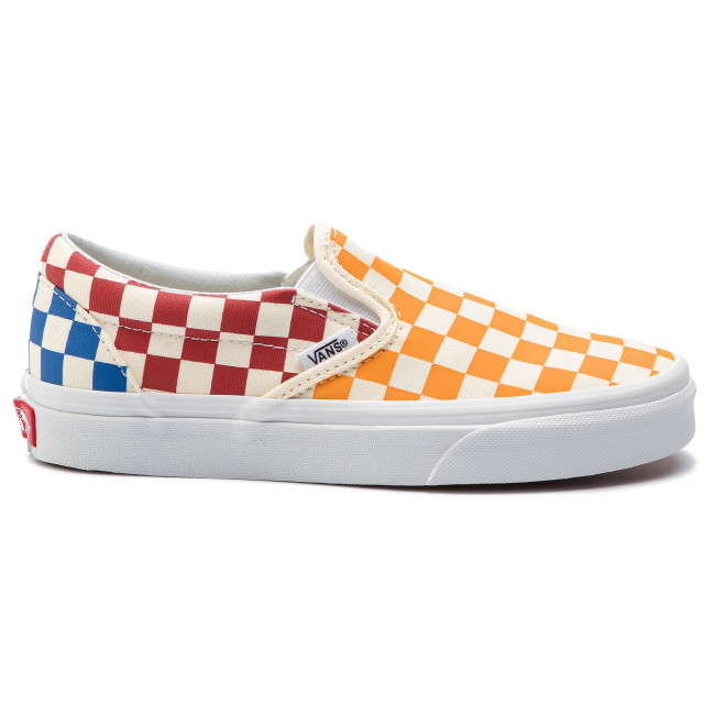 Tenisówki VANS Classic Slip On VN0A38F7VLV1 (Checkerboard) MultiTrue