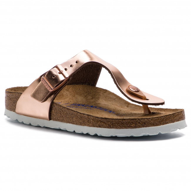 Japonki BIRKENSTOCK - Gizeh Bs 1005049 Metallic Copper