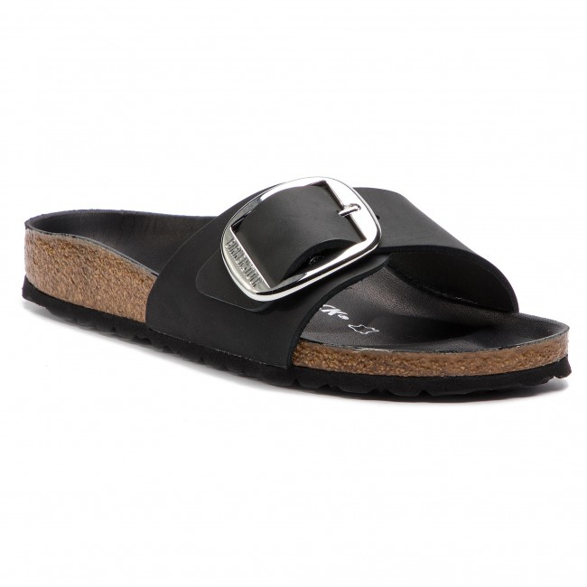 Klapki BIRKENSTOCK - Madrid Big Buckle 1006523 Black