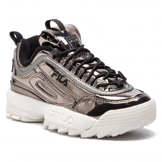 Sneakersy FILA - Disruptor M Low Wmn 1010441.04X Gun Metal