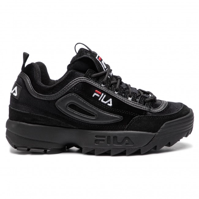 Sneakersy FILA Disruptor V Low Wmn 1010440.12V BlackBlack