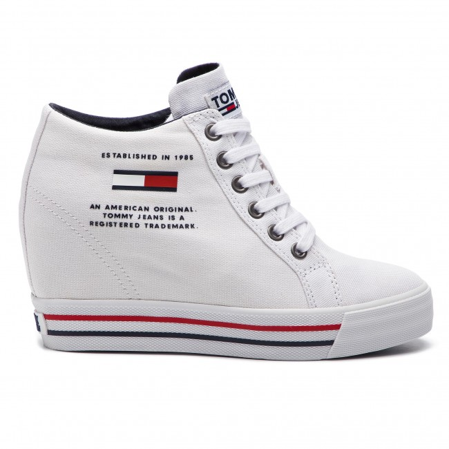 Sneakersy TOMMY JEANS - Wedge Casual