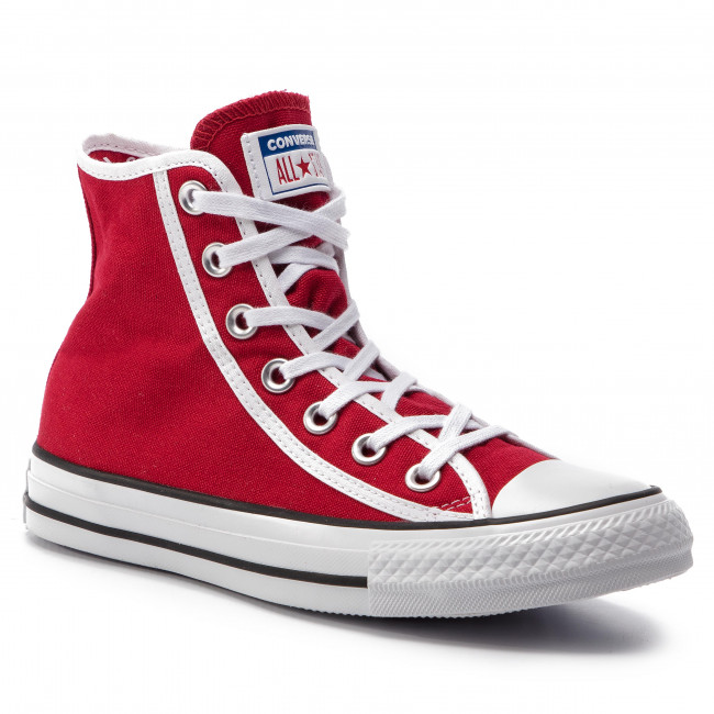 Trampki Converse - Ctas Hi 163980c Gym Red/white/black Półbuty Damskie