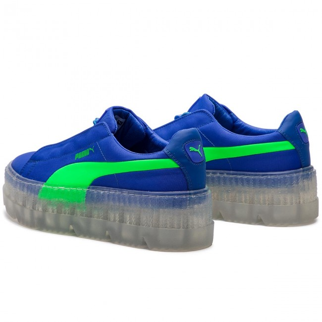check out b55f6 8d05e Sneakersy PUMA - Cleated Creeper Surf Wns 367681 01 Dazzling Blue/Green  Gecko