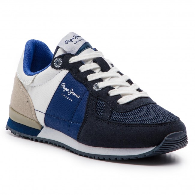 Sneakersy PEPE JEANS - Sydney Basic Ss19 PBS30391  Navy 595