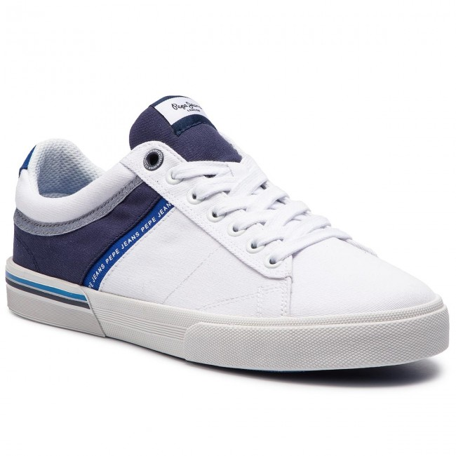 Sneakersy PEPE JEANS - North Half PMS30531 White 800
