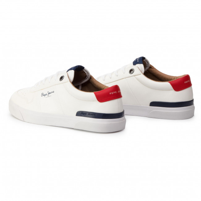 Sneakersy PEPE JEANS Traveller PMS30539 White 800