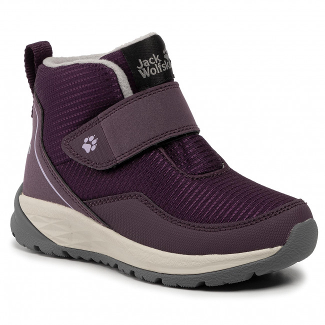 Sniego batai JACK WOLFSKIN - Polar Wolf Low Vc K 4036191 S Purple/Off White