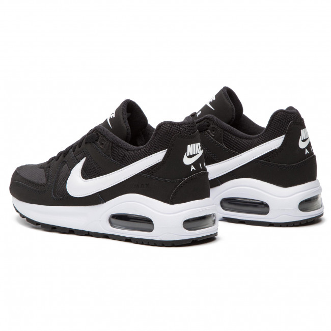 Buty NIKE Air Max Command Flex (GS) 844346 011 BlackWhiteWhite