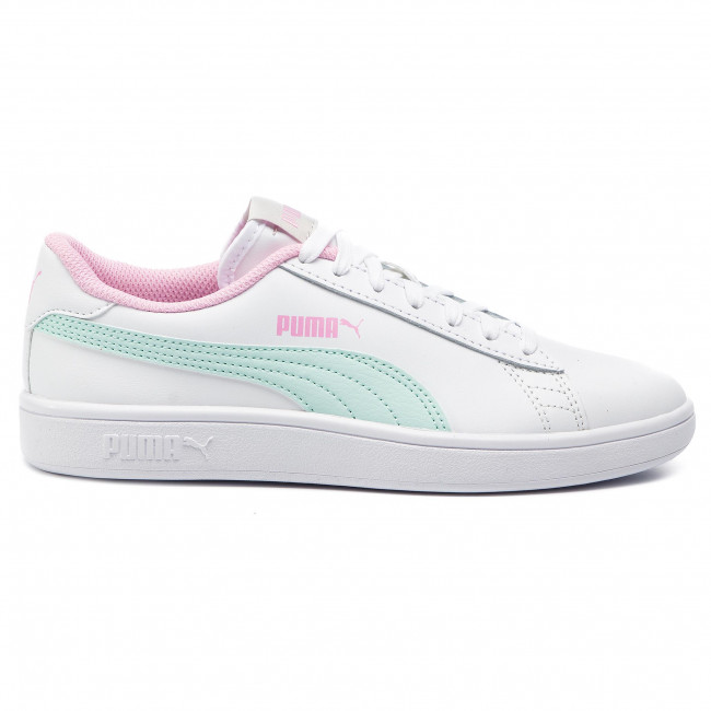 Sneakersy PUMA Smash V2 L Jr 365170 11 WhiteFair AquaPale Pink