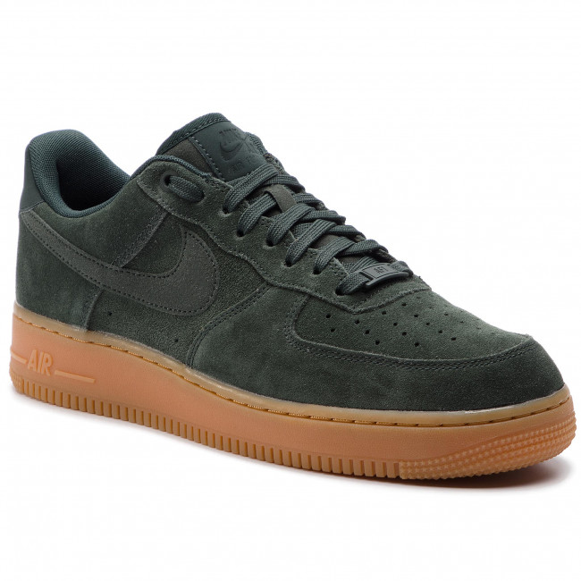 Buty NIKE - Air Force 1 '07 Lv8 Suede AA1117 300 Outdoor Green/Outdoor Green