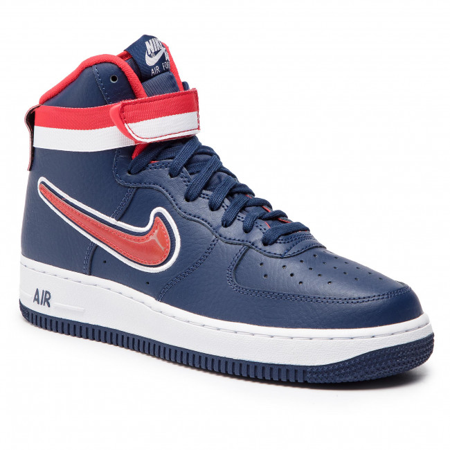 Buty NIKE Air Force 1 High '07 Lv 8 Sport AV3938 400 Midnight NavyUniversity Red