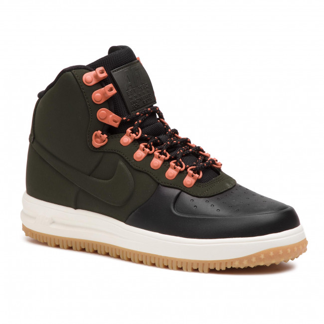 Buty NIKE - Lunar Force 1 Duckboot '18 BQ7930 004 Black/Sequoia/Sail/Noir/Voile/Sequoia