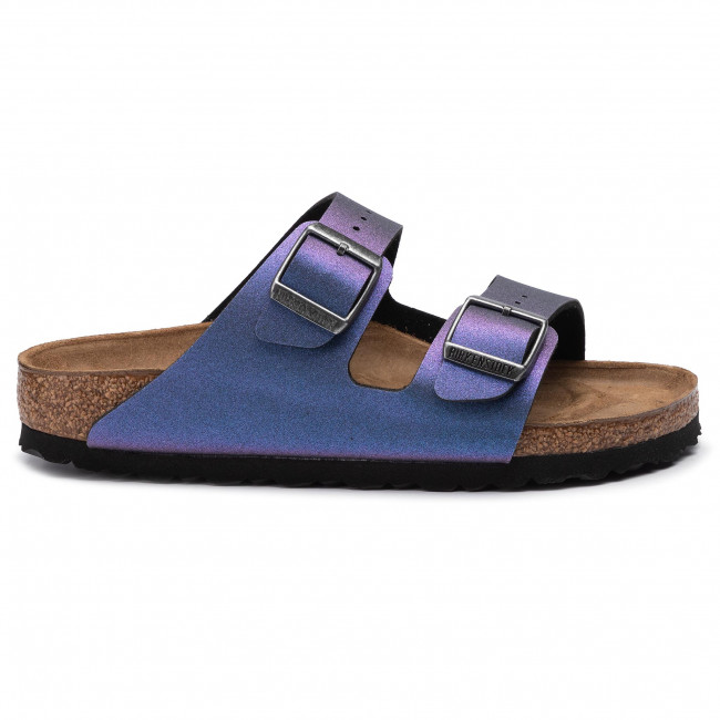 Klapki BIRKENSTOCK Arizona Bs 1014283 Icy Metallic Violet