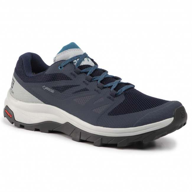 Trekkingi SALOMON - Outline Gtx GORE-TEX 407970 29 M0 Navy Blazer/Quarry/Lyons Blue