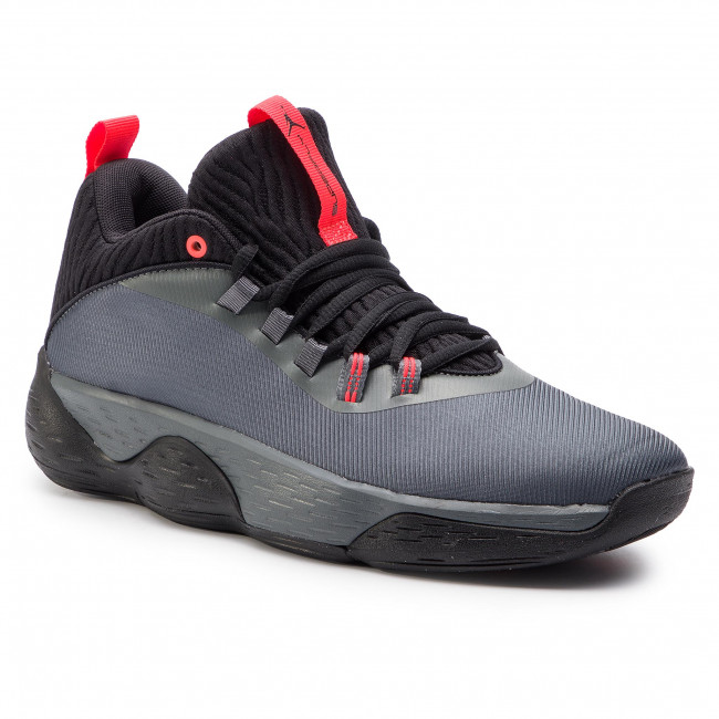 Buty NIKE - Jordan Super.Fly Mvp Low AO6223 001 Iron Grey/Black/Bright Crimson