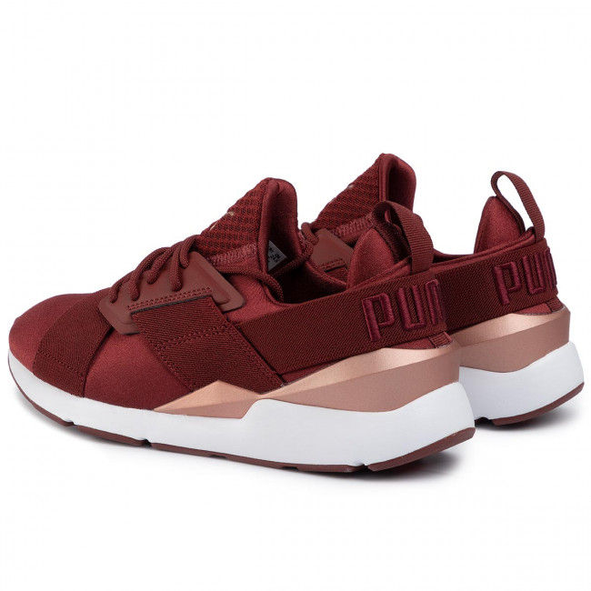 Sneakersy PUMA Muse Satin Ep Wn's 365534 18 Fired Brick