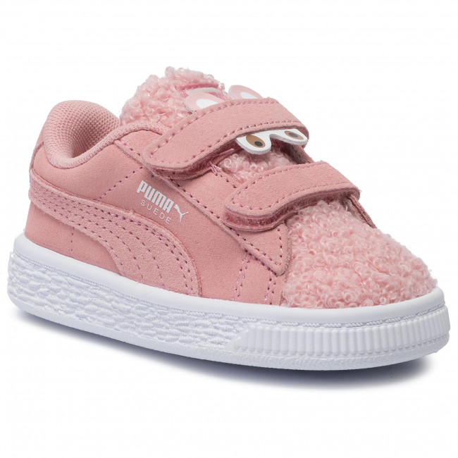 Sneakersy PUMA Suede Winter Monster V Inf 370006 03 Bridal RoseMocha Mousse