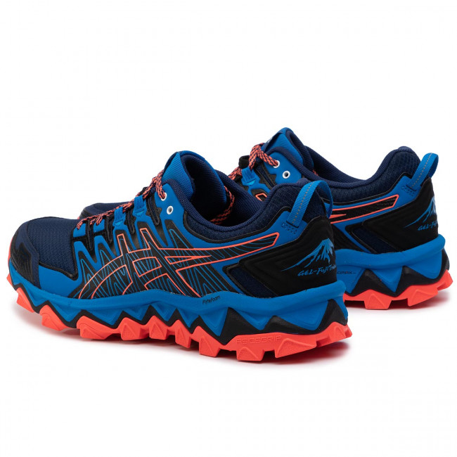 Buty ASICS Gel FujiTrabuco 7 1011A197 Blue ExpanseElectric Blue 400