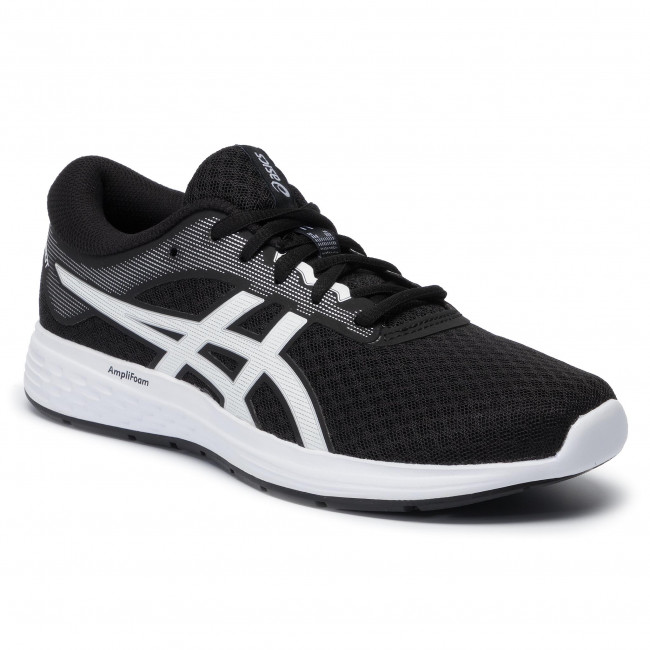 Buty ASICS - Patriot 11 1012A484 Black/White 001