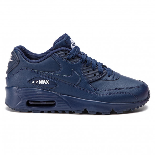 Buty NIKE Air Max 90 Ltr (GS) 833412 412 Midnight NavyWhite