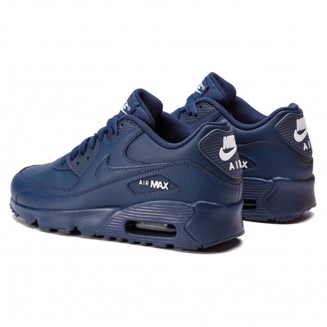 Chaussures NIKE Air Max 90 Ltr (GS) 833412 412 Midnight NavyWhite