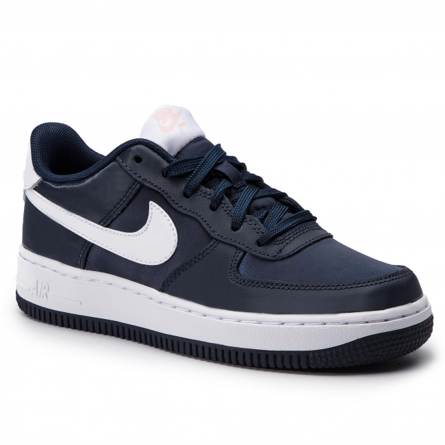 Buty NIKE - Air Force 1 Vday (GS) BQ6980 400 Obsidan /White/Bleached Coral