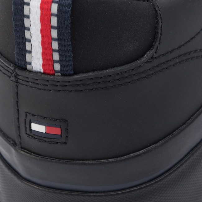 80% ZNIŻKI TenisÓwki TOMMY HILFIGER Corporate Leather