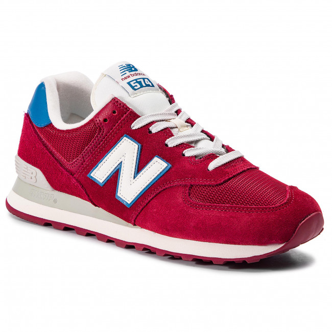 Sneakersy NEW BALANCE - ML574OBC Bordowy
