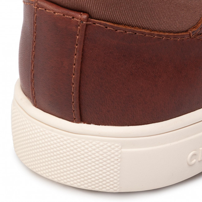 Sneakersy Clae - Bradley Cla01297 Chestnut Oiled Leather Półbuty Męskie