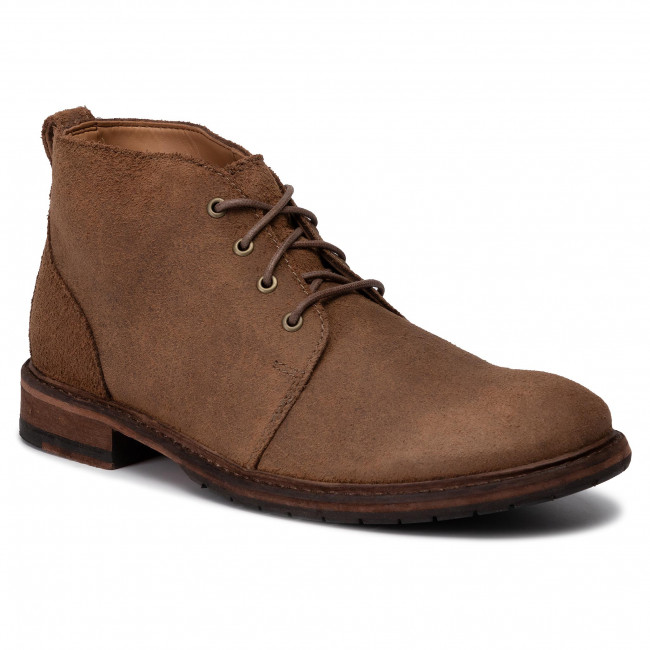 Trzewiki CLARKS - Clarkdale Base 261444497  Taupe Suede