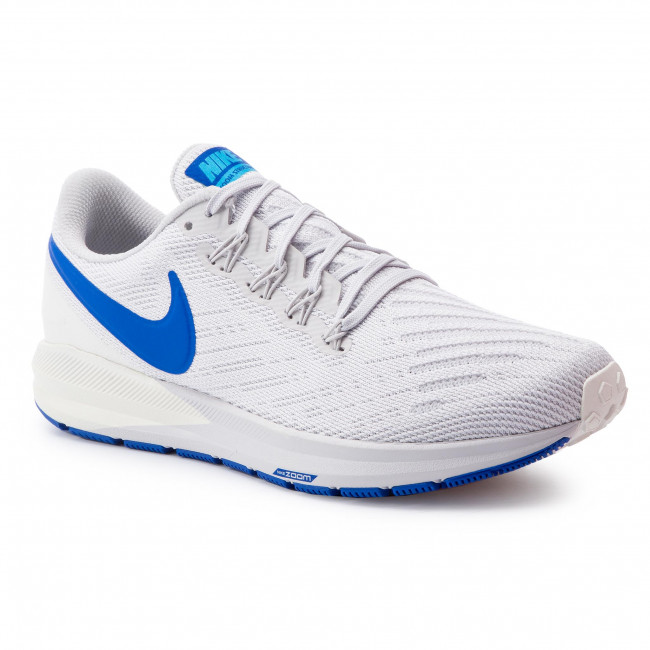 Buty NIKE - Zoom Structure 22 AA1636 007 Vast Grey/Game Royal/Sail