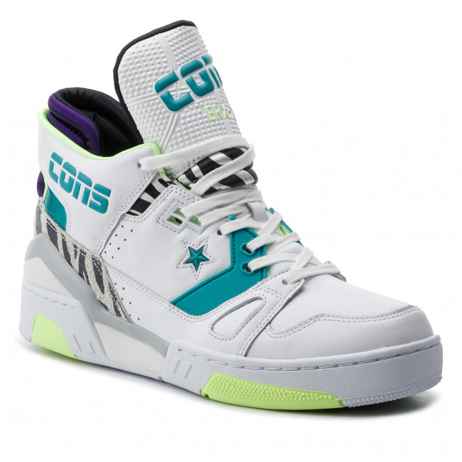 Sneakersy CONVERSE Erx 260 Mid 163783C WhiteRapid TealCourt Purple
