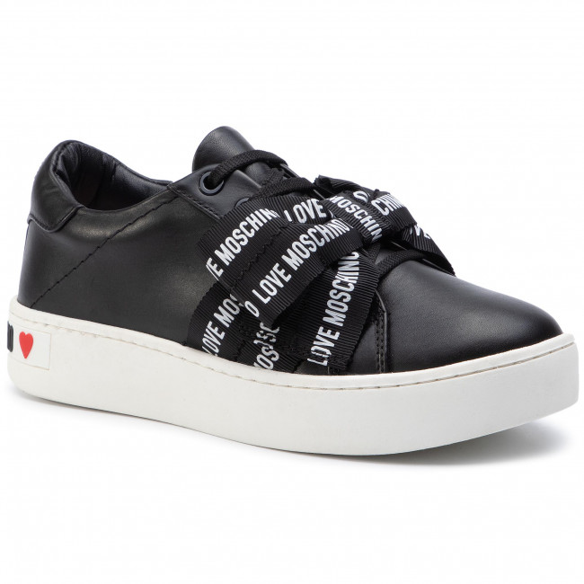 Sneakersy LOVE MOSCHINO JA15093G18IF0000 Nero