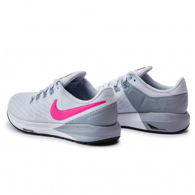 Buty NIKE Air Zoom Structure 22 AA1640 402 Half BlueHyper Pink