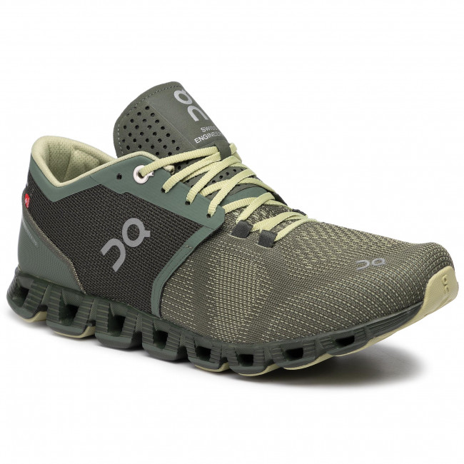 Buty ON - Cloud X 2099985 Forest/Jungle