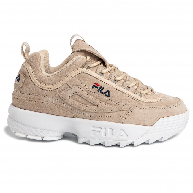Sneakersy FILA Disruptor S Low Wmn 1010605.90R Whitecap Gray