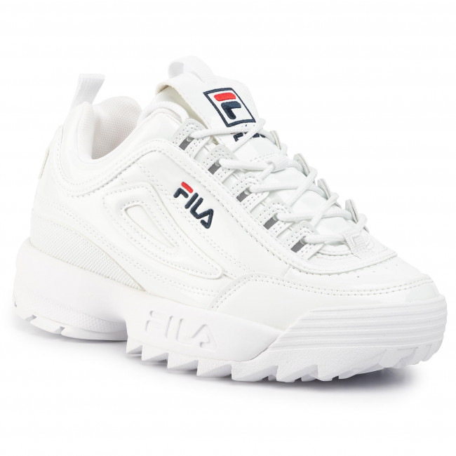 Sneakersy FILA Disruptor P Low Wmn 1010746.1FG White