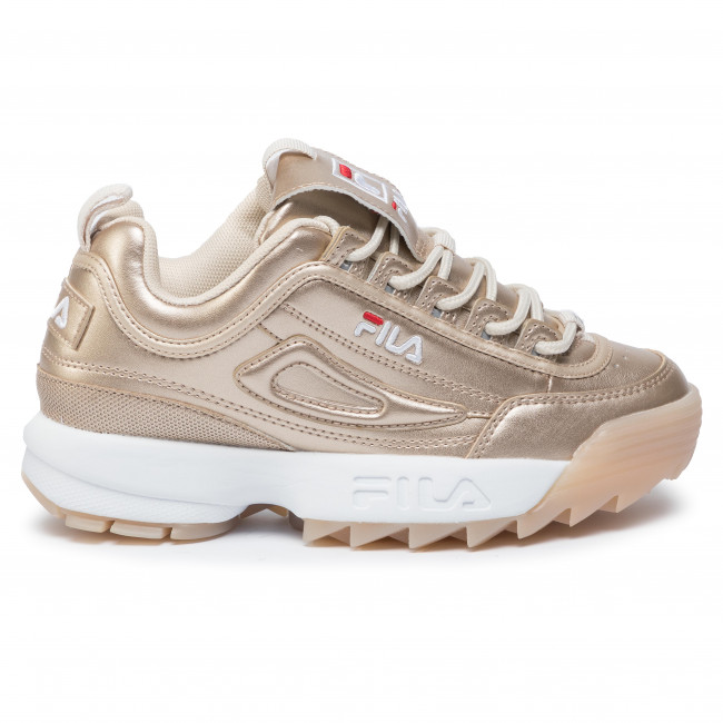 Sneakersy FILA Disruptor M Low Wmn 1010747.80C Gold