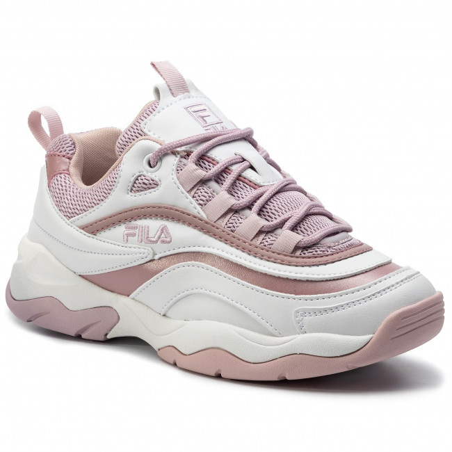 Sneakersy FILA Ray M Low Wmn 1010763.91Q WhiteLilas