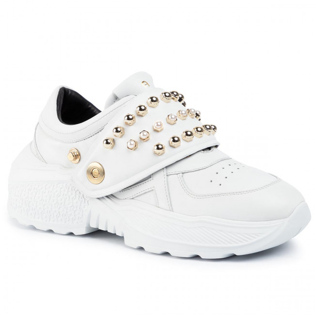 Sneakersy AIGNER - Jenny 6A 192410 White 002