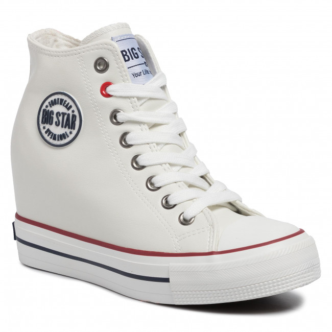 Sneakersy BIG STAR - EE274616  White
